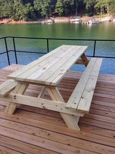 Picnic Table by NGFoothillsFurniture on Etsy