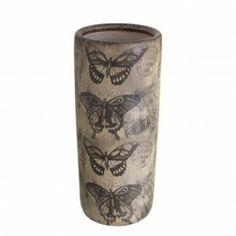 Paragüero original de cerámica redondo Butterfly en Nuryba.com tu tienda de muebles y decoracion online