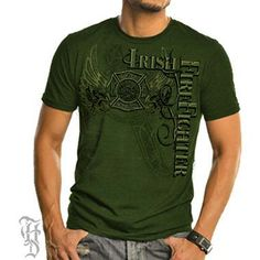 Elite Irish Firefighter T-Shirt | Shared by LION