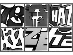 ERIC HAZE http://www.widewalls.ch/artist/eric-haze/ #design #drawing #graffiti #painting #pop #art #street #art #urban #art