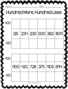 place value riddles for three digit numbers monkeying around pinterest. Black Bedroom Furniture Sets. Home Design Ideas