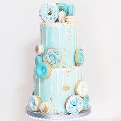 "Lauren on Instagram: ""CHERISH | Donut-themed baby shower for Cherish's baby boy! Thanks lovely! 🍩 PS I am finally back to baking after a short break in Hunter…"" 1st Birthday Party For Girls, Donut Birthday Parties, Baby Boy Birthday, Birthday Party Themes, Birthday Ideas, 2nd Birthday, Baby Boy Sprinkle, Sprinkle Shower, Donut Party"