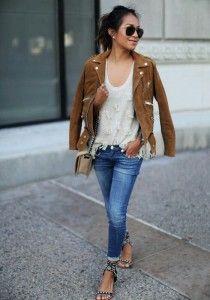 Meilleures Fall Ladies 35 Daim Du Images Veste Tableau Fashion Twddq8Y
