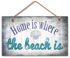 Home is where the beach is                                                                                                                                                      More