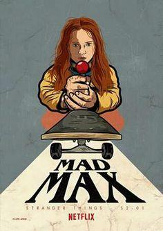 Max, The Arcade Warrior #max #madmax #strangerthings #netflix