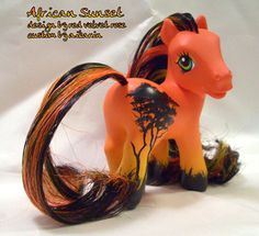 My Little Pony was my favorite childhood toy - the custom ponies that people make these days are amazing!!