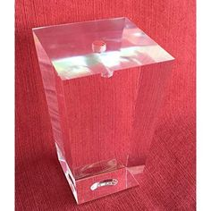 """'Alpha Furnishings Clear Acrylic Cylinder Leg 5""""H for Sofa, Cabinet and Furniture, 4PC' from the web at 'https://i.pinimg.com/236x/a4/86/4f/a4864fd2b83bd7bef3be99b48694b3ef--mirror-furniture-clear-acrylic.jpg'"""