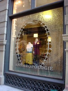 Beautiful Window Displays!: Anthropologie Vintage Ornaments Holiday Windows 2008