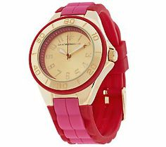 Isaac Mizrahi Live! Colorful Silicone Strap Watch