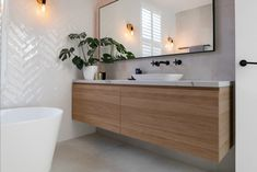This page displays photographs of a bathroom renovation in a beachside home in Adelaide, South Australia Upstairs Bathrooms, Downstairs Bathroom, Bathroom Renos, Laundry In Bathroom, Master Bathroom, Bathroom Ideas, Bathroom Remodeling, Remodeling Ideas, Beautiful Bathrooms