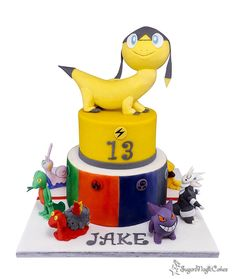 Pokemon.... - Cake by SugarMagicCakes (Christine)