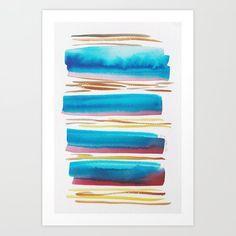 Lines & Color Block Series October 2018 Watercolor Dreamcatcher, Butterfly Watercolor, Watercolor Pattern, Watercolor Print, Pastel Watercolor, Abstract Canvas Art, Canvas Art Prints, Watercolor Art Paintings, Watercolor Artists