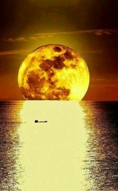 The moon will send you on your way
