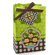 http://www.bigdotofhappiness.com/baby-shower/baby-shower-themes/triplets-baby-shower-themes/triplet-monkey-2-boys-1-girl-baby-shower-theme.html