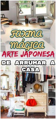 """Veja 10 conselhos essenciais de """"A Mágica da Arrumação"""", de Marie Kondo. #arrumar #organizar #casa #faxina #magica #arte #japonesa #dicas #tecnicas #organização"""