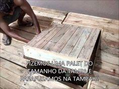 Como fazer deck de madeira em casa - YouTube