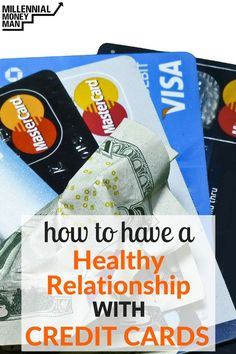 What a great post! If you are afraid of using credit cards, read Bobby's post to learn the ways you can have healthy relationship with them.