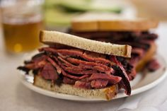 Sandwich-for-two from Katz Deli