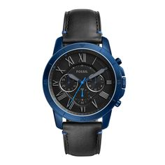Fossil Grant Sport - Men Wrist Watch on YOOX. The best online selection of Wrist Watches Fossil. YOOX exclusive items of Italian and international designers - Secure payments Herren Chronograph, Fossil Watches For Men, Mens Watches For Sale, Vintage Watches For Men, Cheap Watches, Wrist Watches, Emporio Armani, Outer Shoes, Bracelets