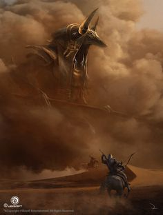 Assassin's Creed Origins, Martin Deschambault on ArtStation at https://www.artstation.com/artwork/Qq4KL