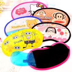 Sleep Mask, Cute Cartoon, Hello Kitty, Korean, Shades, Ice, Fresh, Products, Korean Language
