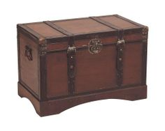 Hope Chest, Decoration, Storage Chest, Barn, Table, Furniture, Home Decor, Leather, Teak Furniture