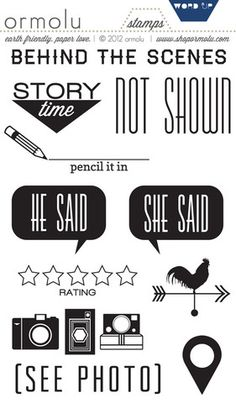 lOVE THESE! Word Up Stamps by @Kaitlin Sheaffer