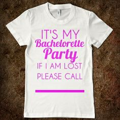 It's My Bachelorette Party @Brianne Cash @Anna Totten Totten Faunce Cumpsten @lexi Pixel Napolitano @Brennan O'Donnell O'Donnell O'Donnell boudreaux