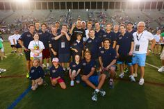 Proud to support Best Buddies and the amazing kids at the Tom Brady Football Challenge (who look great in their polos)
