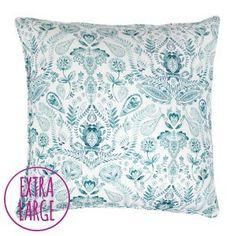 Giant Aria Floor Cushion bean bag by Fi Douglas of bluebellgray - a Scottish textile design company.