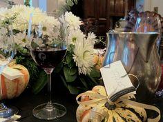 DIY Thanksgiving gourds as table name cards