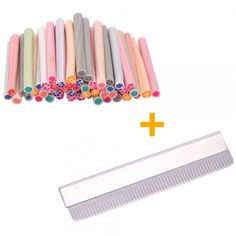50 Hibiscus & Rose Fimo Clay Canes + Blade Set: starting bid just $5 with free shipping. Come on over to Tophatter!