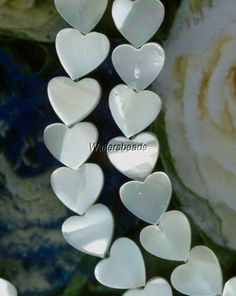 Pearls Freshwater And Shell   Waltersbeads ArtFire Shop