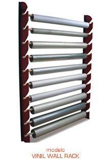 Resultado de imagen de storage rack for tubes of vinyl Vinyl Storage, Shop Storage, Fabric Storage, Storage Rack, Craft Organization, Craft Storage, Deco Ballon, Fabric Display, Sewing Studio