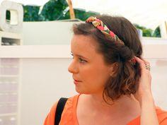 Encore merci à http://www.pinterest.com/CanardDLapines/ Cet article est génial !  #headband #tresse #tissus #vintage by @sageetsauvage sur http://www.jolietete.fr/headband-sage-et-sauvage