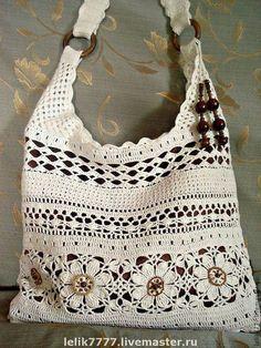 "Женские сумки ручной работы. Ярмарка Мастеров - ручная работа Сумка ""Любимый лен"". Handmade. [   ""háčkovaná taška More - Crafting Practice"",   ""images attach b 4 113 821"",   ""Bolsas a crochet"" ] #<br/> # #Crochet #Handbags,<br/> # #Crochet #Purses,<br/> # #Crocheted #Bags,<br/> # #Knitting #Bags,<br/> # #Online #Diary,<br/> # #More #More,<br/> # #Diaries,<br/> # #Needlework,<br/> # #Crochet<br/>"