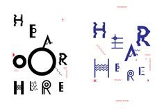 Hear Here Project on Behance