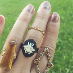 Cameo Bee Ring / Adjustable Beekeepers Lover Gift Steampunk Costume Cosplay / Boho Bohemian Victorian Vintage Style/ Bumble Bee Bug Insect by lydiasvintage on Etsy https://www.etsy.com/listing/483056743/cameo-bee-ring-adjustable-beekeepers