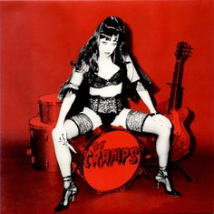 The Cramps - red and black/ lingerie