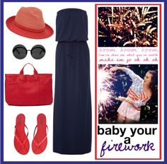 Fourth of July Outfit by oliveandmango on Polyvore