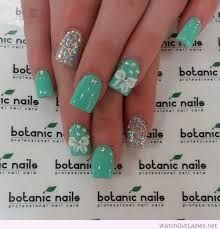 Explore amazing art and photography and share your own visual inspiration! Green Nail Designs, Cute Nail Art Designs, Hair And Nails, My Nails, Tiffany Nails, Botanic Nails, Really Cute Nails, Color Menta, Nails Only