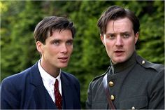 Cillian Murphy and Padraic Delaney in Ken Loach's The Wind That Shakes the Barley
