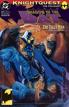 Shadow of the Bat (Jean Paul Valley as The Dark Knight while Bruce was recovering.)