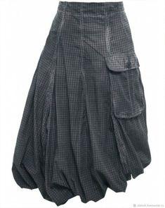 Brown Check & Wire Skirt, Fundholz at Jules B Fashion Tips For Girls, Petite Fashion Tips, Ladies Fashion, Refaçonner Jean, Boho Fashion, Vintage Fashion, Fashion Design, Classy Fashion, Fall Fashion