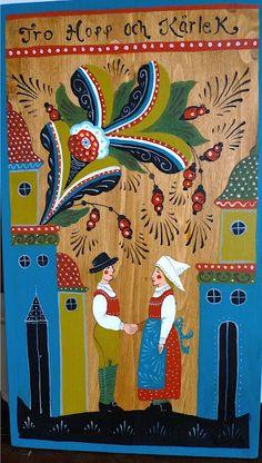 Swedish Folk Art - so much a part of my childhood heritage