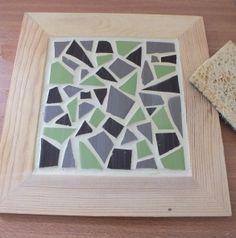 Un dessous de plat en mosaïque - DIY A mozaic table mat - Meubles et objets - Pure Sweet Home