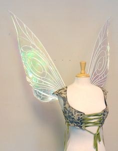 Hey, I found this really awesome Etsy listing at http://www.etsy.com/listing/162341962/tinkerbell-large-iridescent-fairy-wings $275