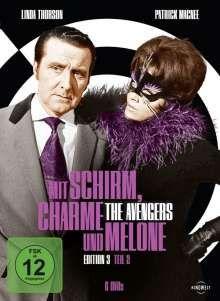 Mit Schirm, Charme und Melone Edition 3 Box 2, 6 DVDs