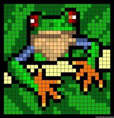 frog perler bead patterns | 94a3182145808a1a5f0cab8cb460b843.jpg