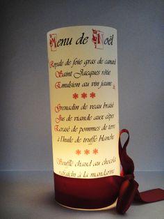 Menu créé pour Noël - Casino de Lons Le Saunier